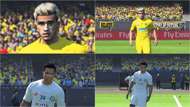 Hà Đức Chinh Face PES 2017