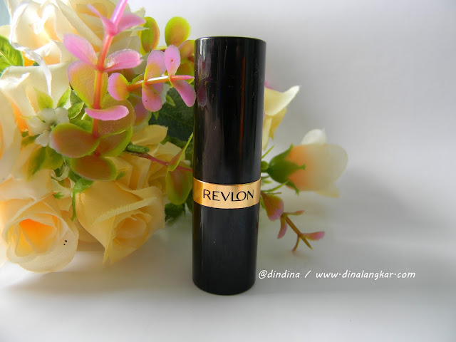 Lipstik Revlon Superlustrous shade 131 (Review)