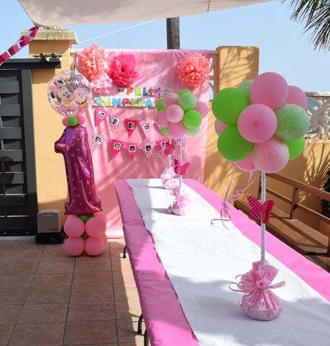 Decoraci n con globos de todo fiesta decoraciones para for Decoracion en bombas para cumpleanos