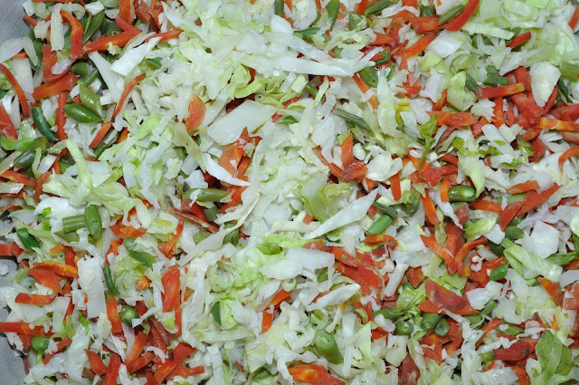 Grated Vegetables