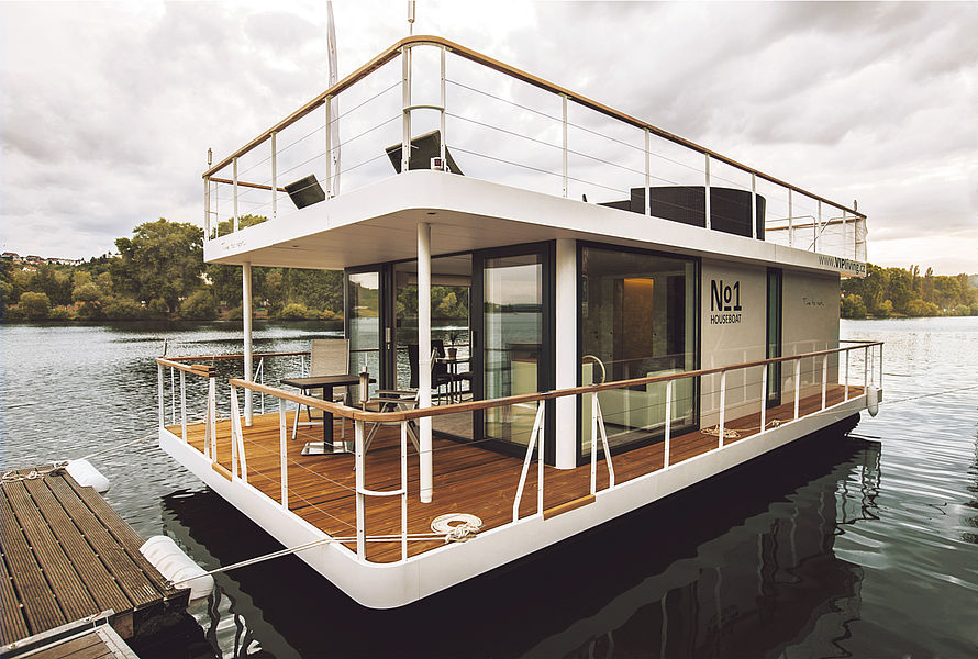Tiny House Town The No1 Living 40 Houseboat