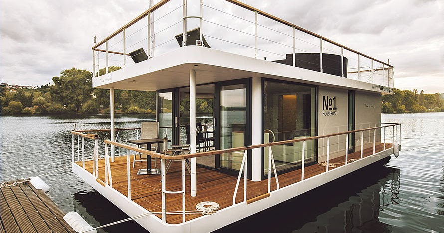 The No1 Living 40 Houseboat Tiny House Town