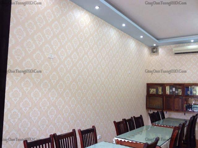 Cách lựa chọn giấy dán tường cho khu vực nhà ăn