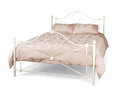 Serene Lyon 4ft Metal Double Bed