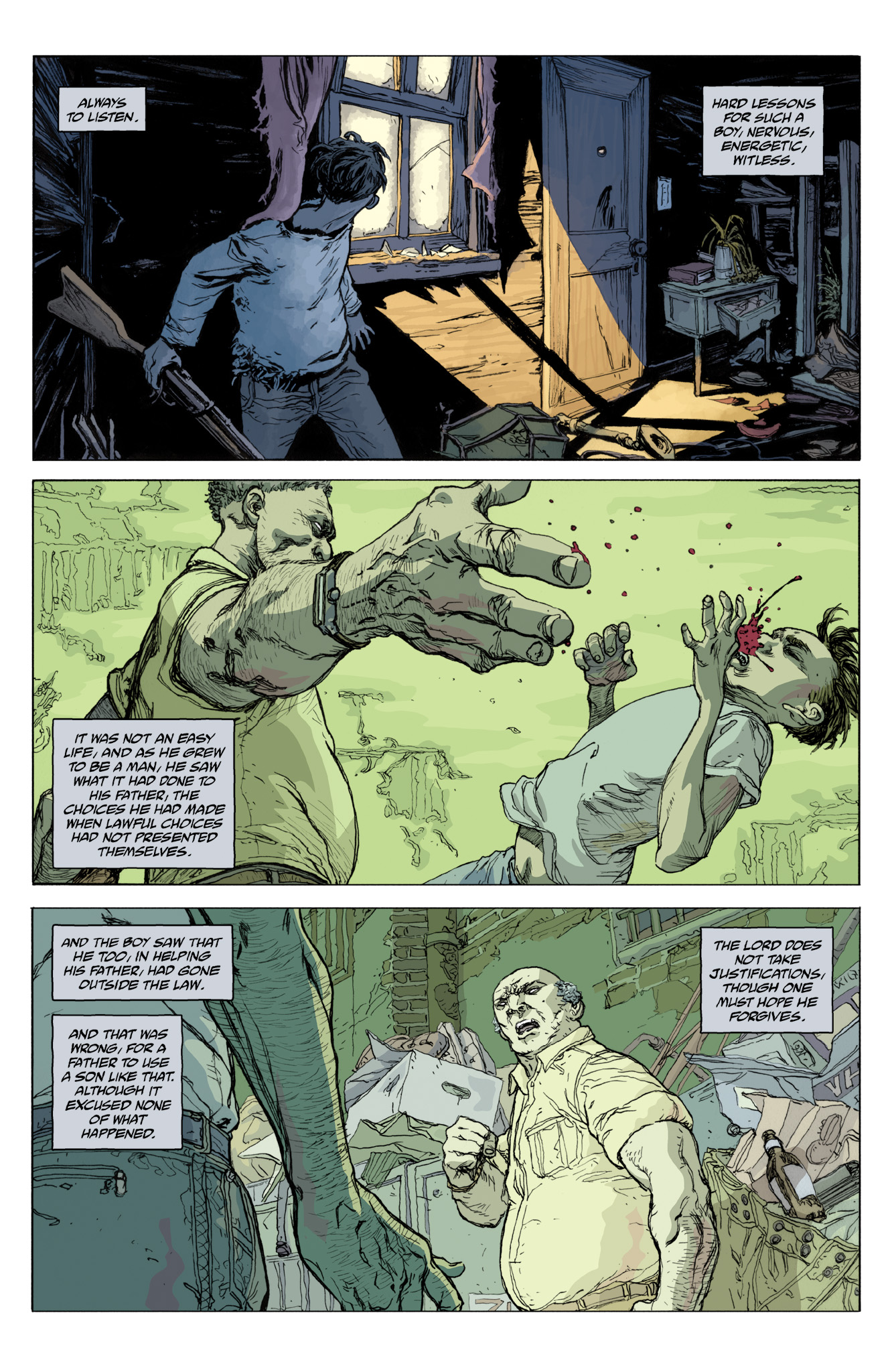 Read online Abe Sapien comic -  Issue #12 - 15