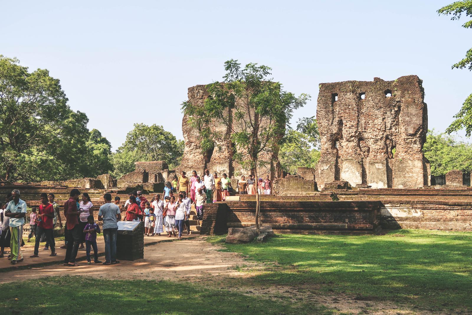 Polonnaruwa Sri Lanka Royal Palace
