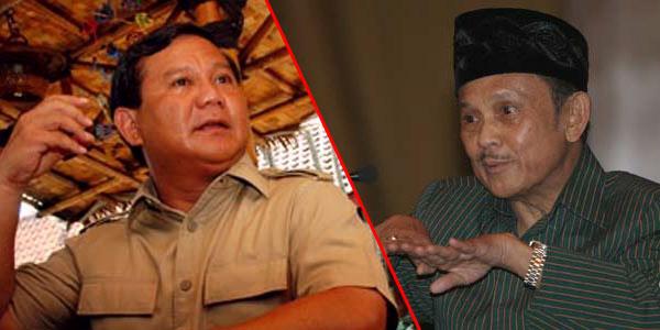 Prabowo Dipecat atau Diberhentikan? Ini Cerita BJ Habibie