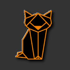 Origami de um gato