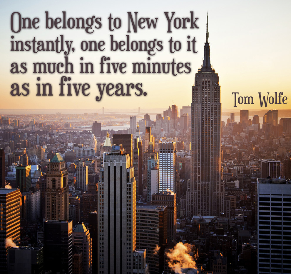 quotes on new york