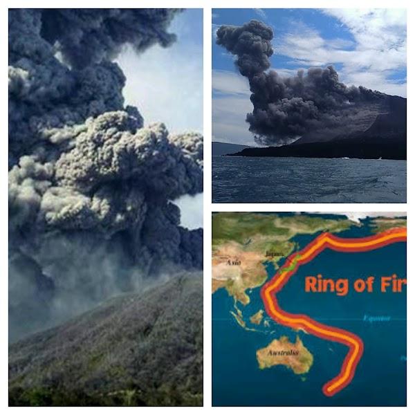 Mas Volcanes En Erupción. Que Está Pasando??