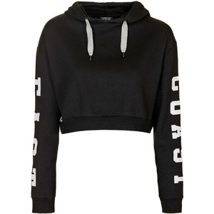East Coast Cropped Hoodie from Topshop