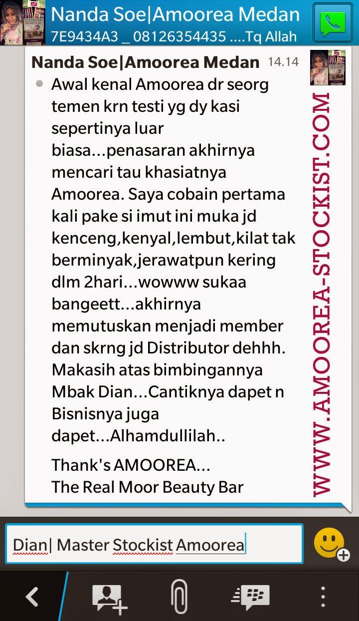 testimoni & review sabun amoorea 8