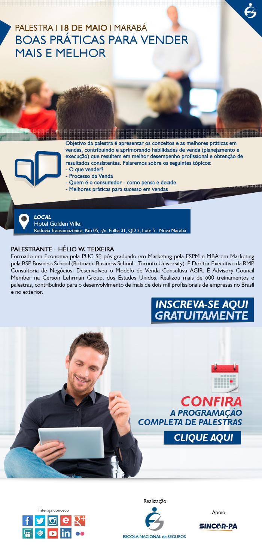 af8b11994bc SINCOR-PA   Blog  Palestra Boas Práticas para vender mais e melhor em Marabá