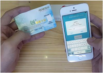 unlock iphone 6 plus bằng sim ghép như thế nào