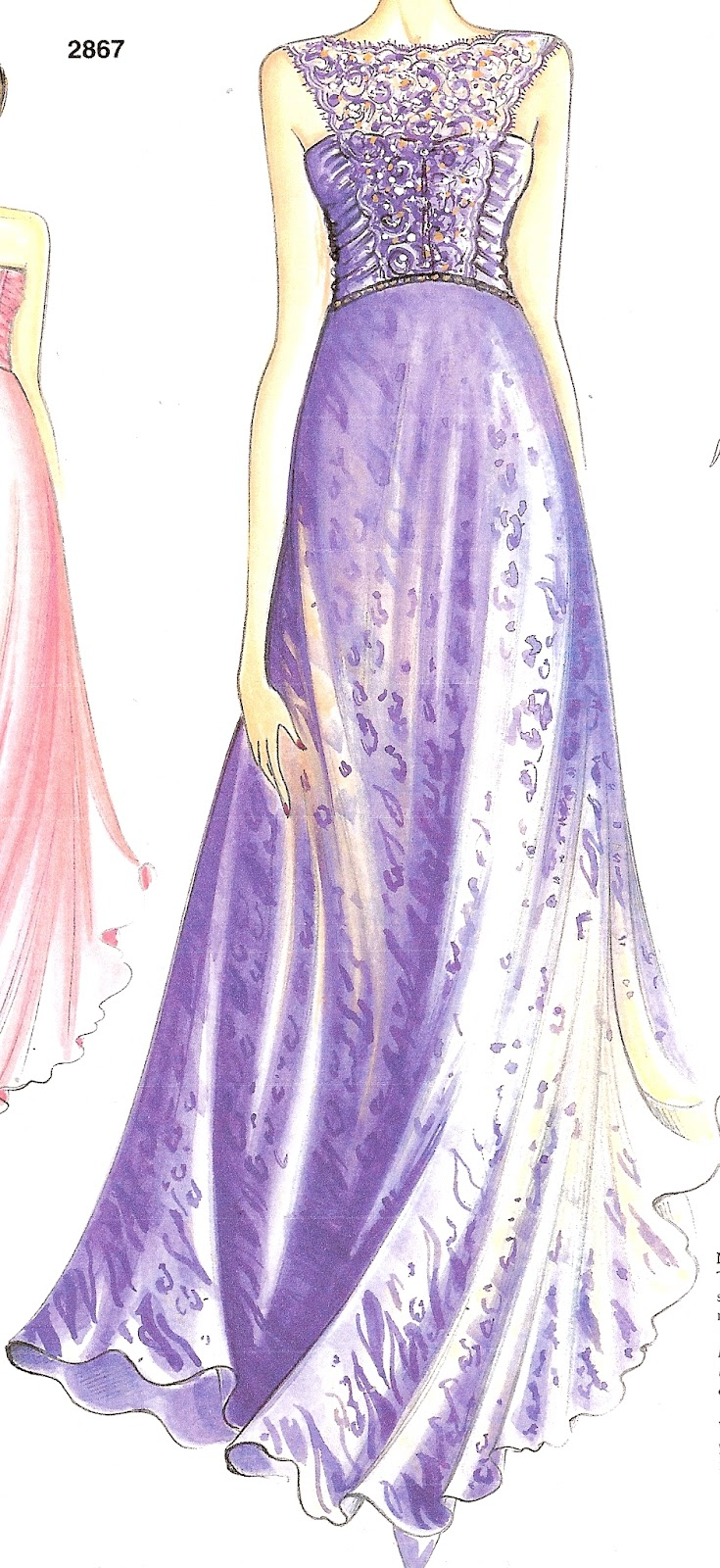 Did You Really Sew That?: Long Evening Gown Marfy 2867