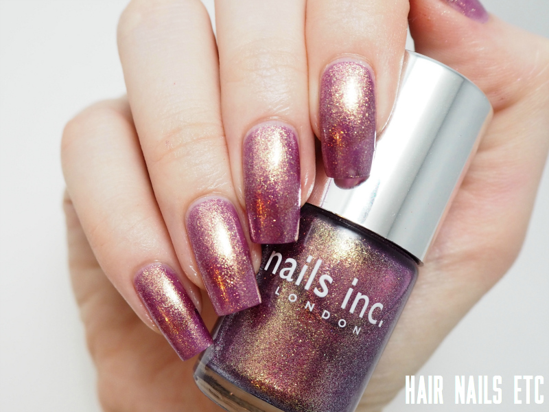 Nails Inc - Wardour Mews - Swatches and Review