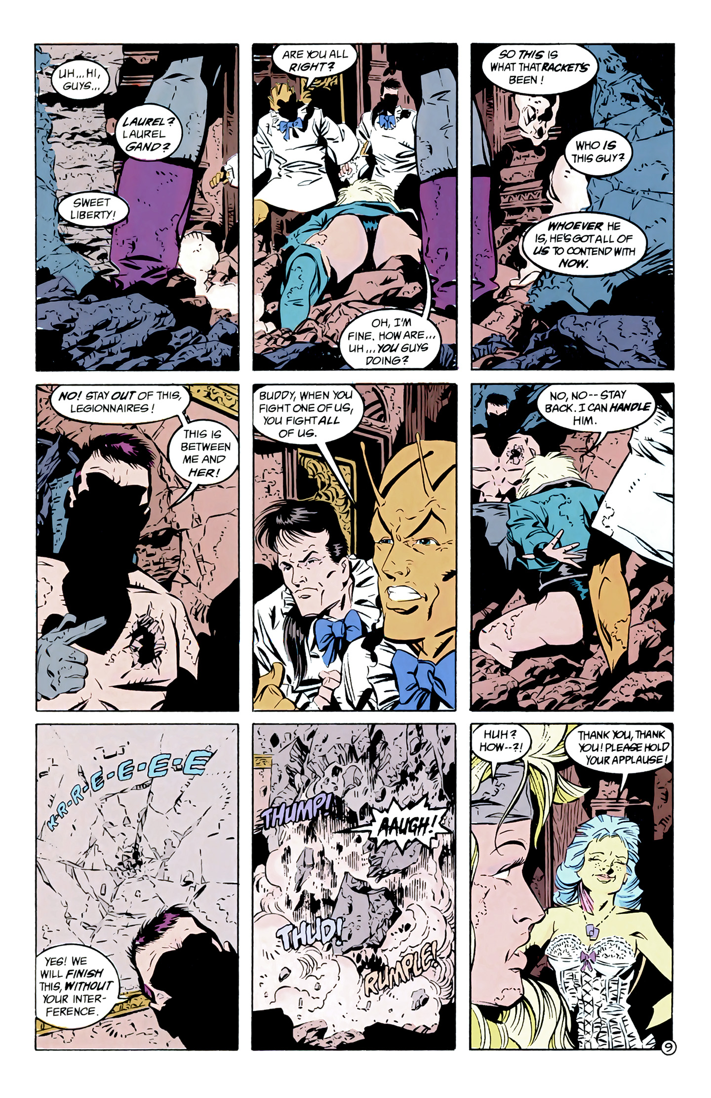 Legion of Super-Heroes (1989) 7 Page 9