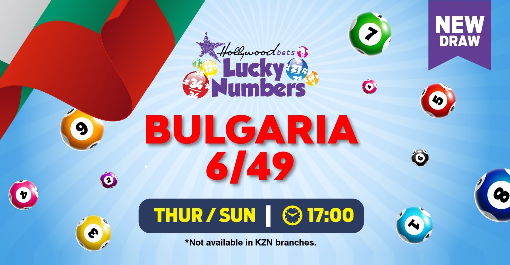 Bulgaria 6/49 Lotto - Lucky Numbers - Hollywoodbets