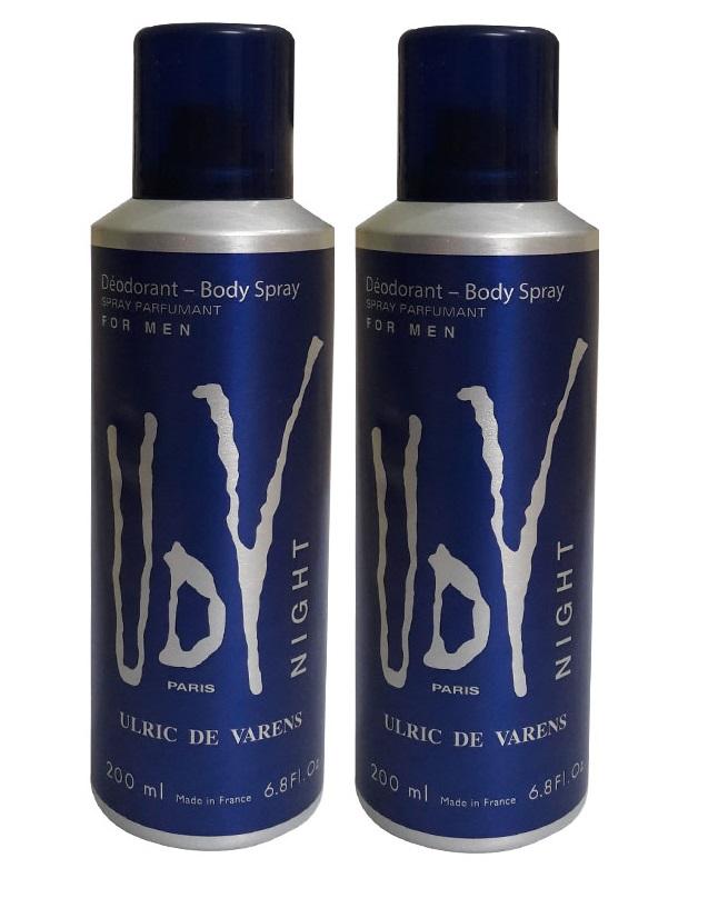 Pack Of 2 - UDV Night Body Spray 200 ml