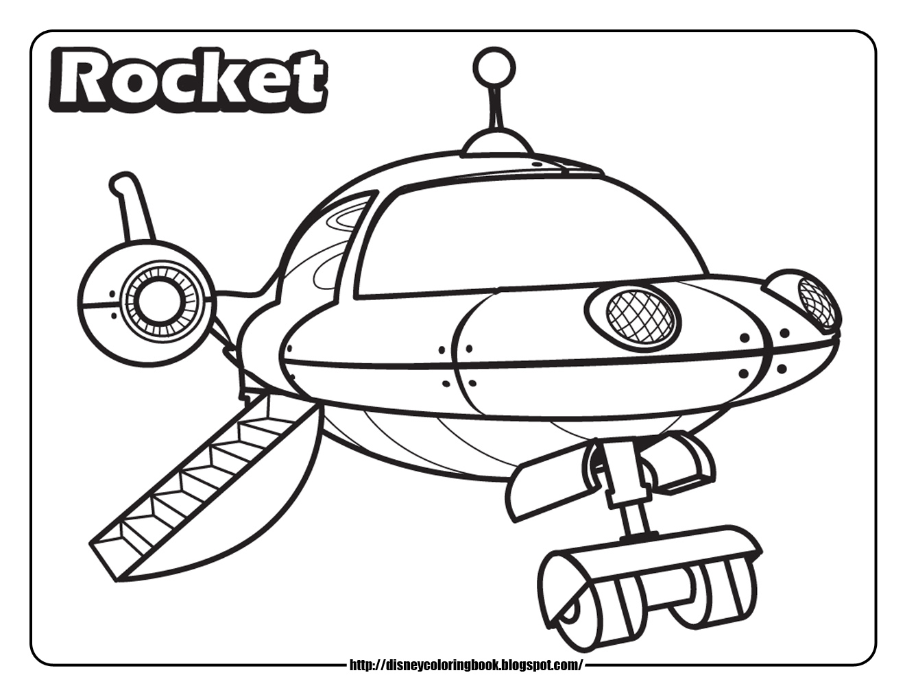 little einsteins online coloring pages - photo #21