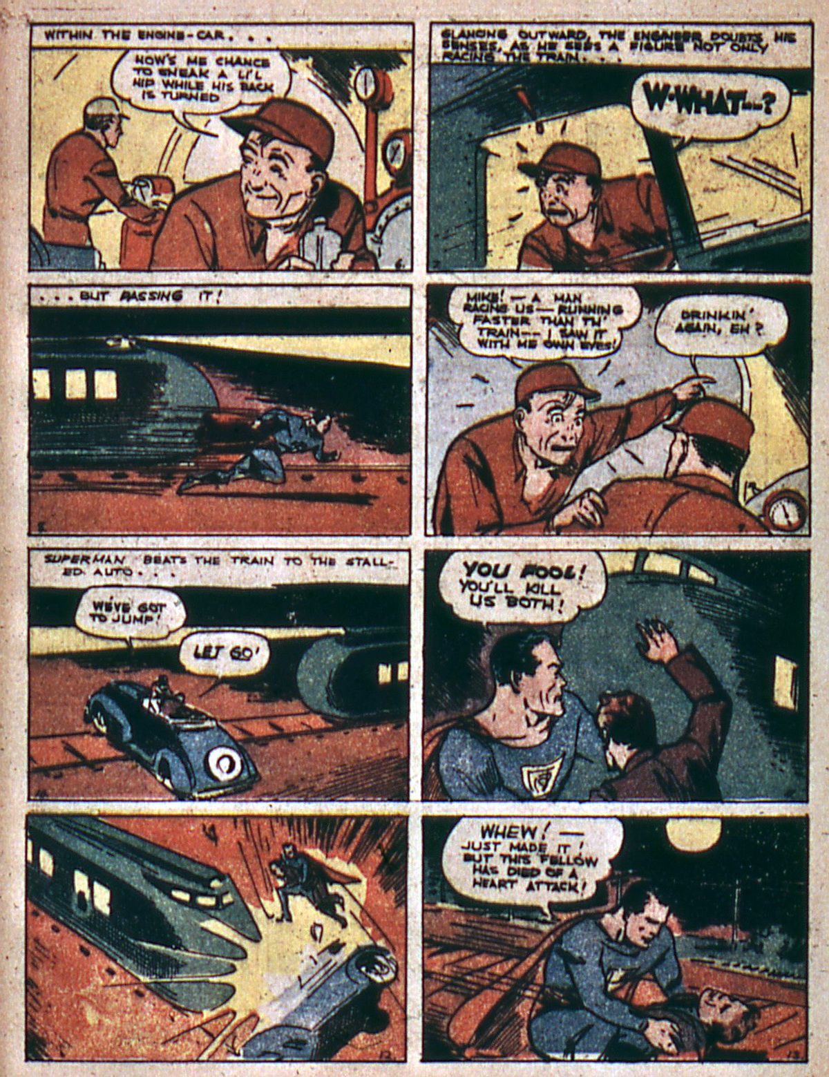 Read online Action Comics (1938) comic -  Issue #4 - 5