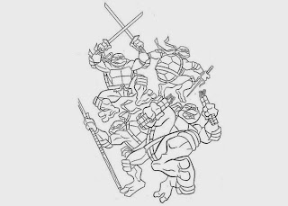 Tiger ninja turtles coloring pages ~ 07/10/13 | Free Coloring Pages and Coloring Books for Kids