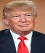 American businessman and politician Donald Trump