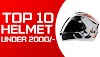 Top 10 Full-Face Helmets under 2000/- Rupees