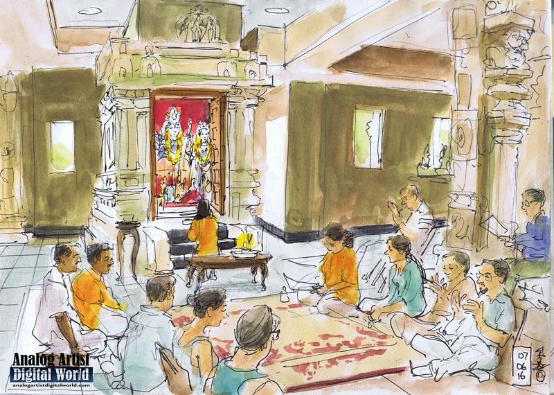 Analog Artist Digital World: Hanuman Chalisa