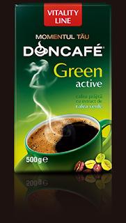 Doncafe Green Active cu cafea verde cumpara aici