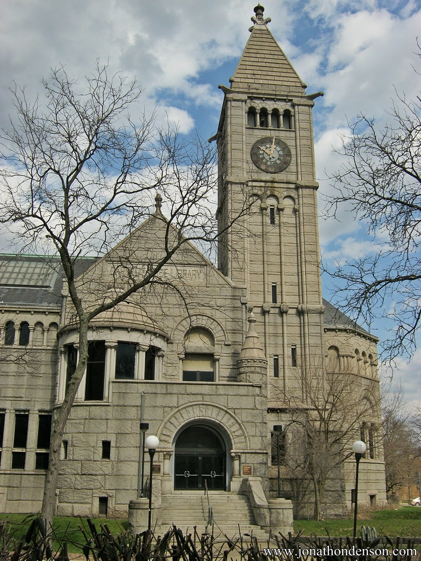 Discovering Historic Pittsburgh Carnegie Library and Post Office  Allegheny City