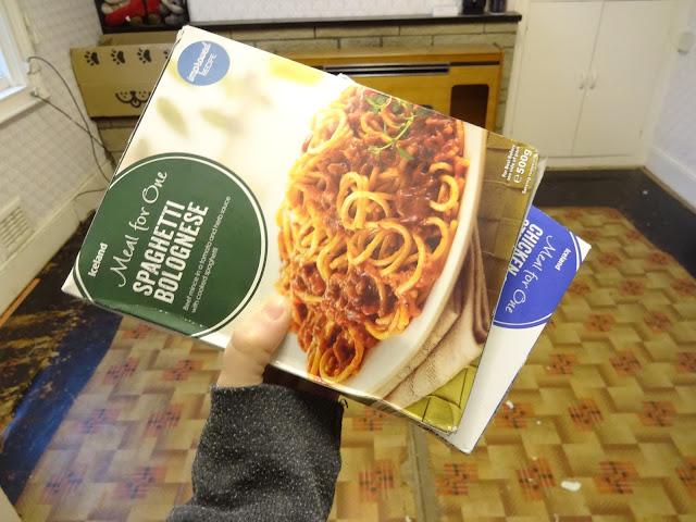 frozen food whilst being kitchen less