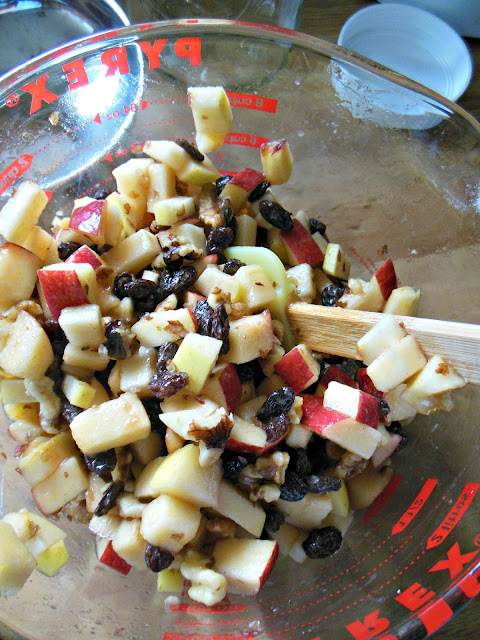 Apple Raisin Chutney, a fermented foods condiment.