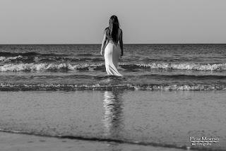 Postboda playa Pilar Moreno