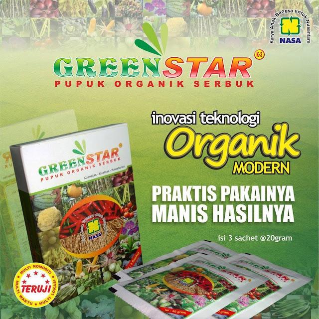 Pupuk Organik Serbuk Greenstar - Biangnya Pupuk Organik Cair