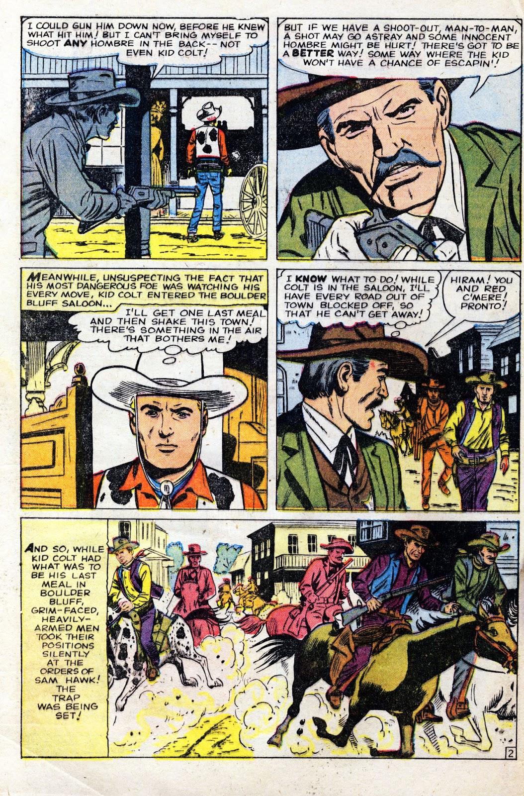 Gunsmoke Western issue 60 - Page 4