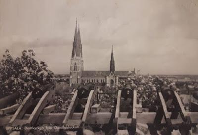 Catedral de Uppsala en 1956