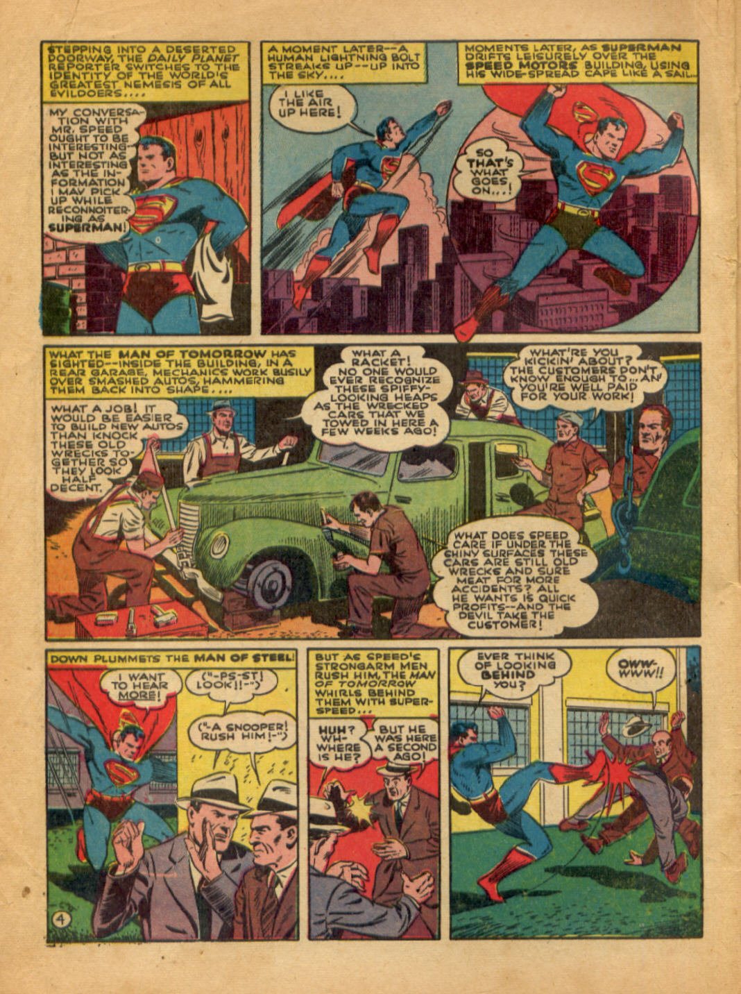 Read online Action Comics (1938) comic -  Issue #48 - 6