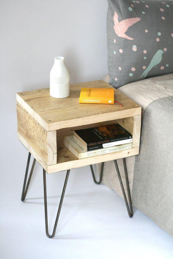 Creative And Thrifty Ideas For Bedside Tables Decor Units