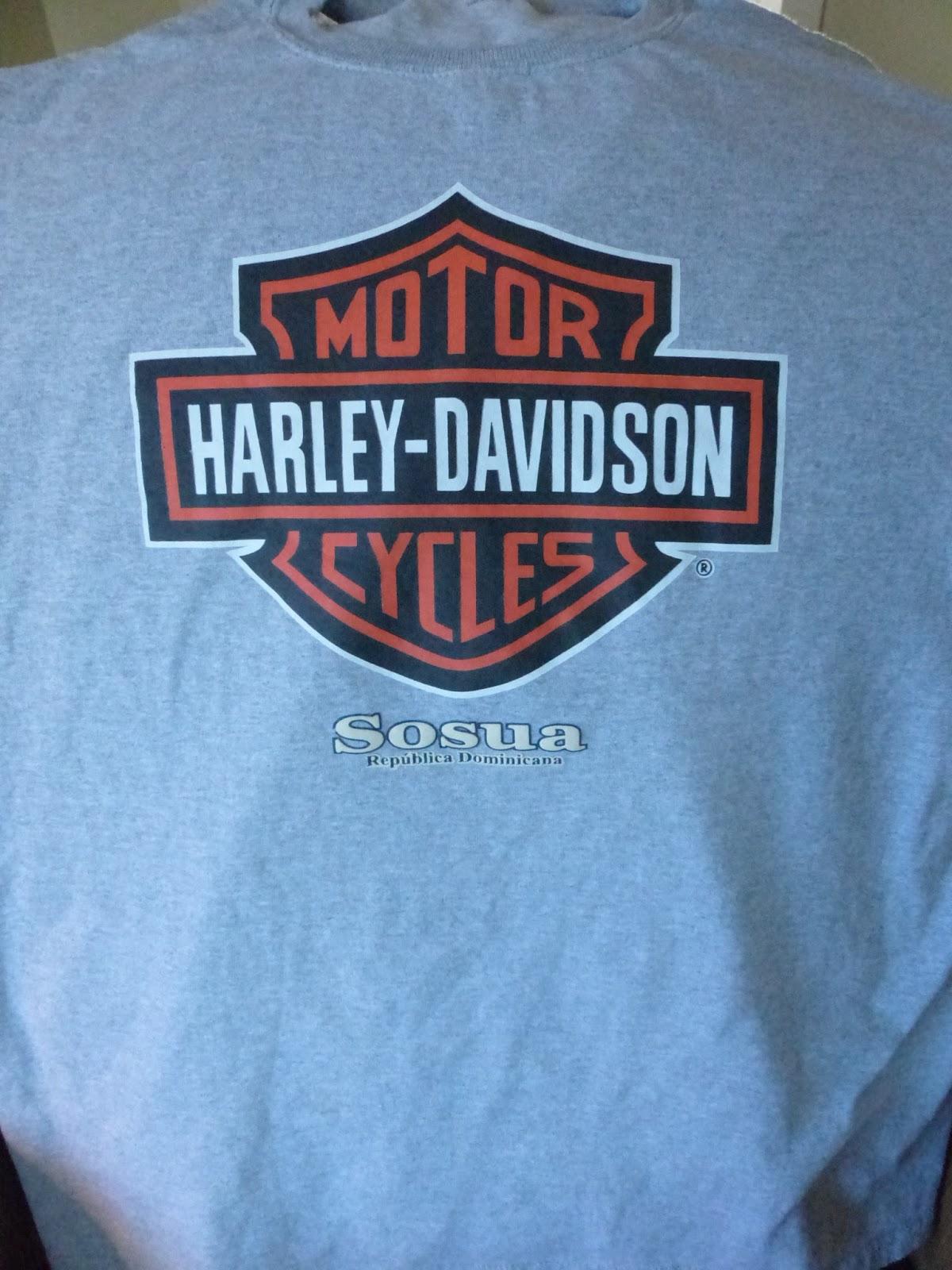 Harley Davidson Dominican T Shirts