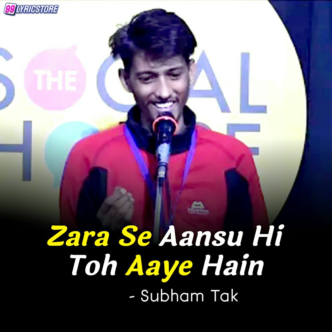 'Zara Se Aansu Hi Toh Aaye Hain' Poetry has written and performed by Shubham Tak on The Social House's Plateform.
