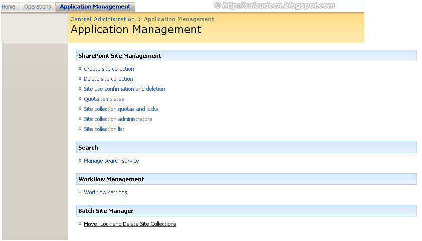 sharepoint 2007 move site collection to another database