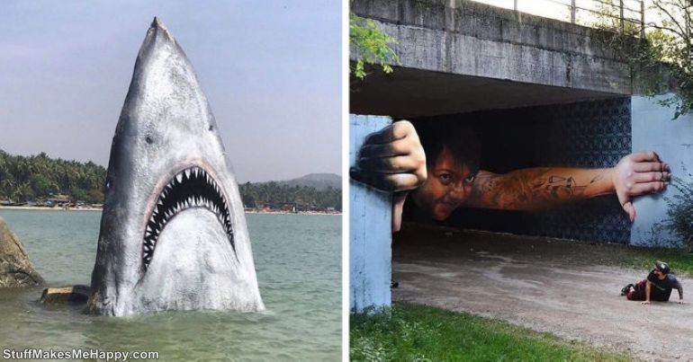 Realistic Examples of Street Art