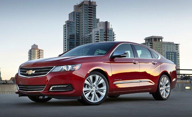 Xe sedan cỡ lớn tốt nhất: Chevy Impala