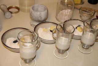 Biscuit experiment preparation