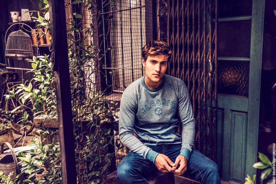 Moda invierno 2019 hombre y mujer. Moda urbana en ropa de mujer, camisas, pantalones, sweaters, jeans, buzos invierno 2019.