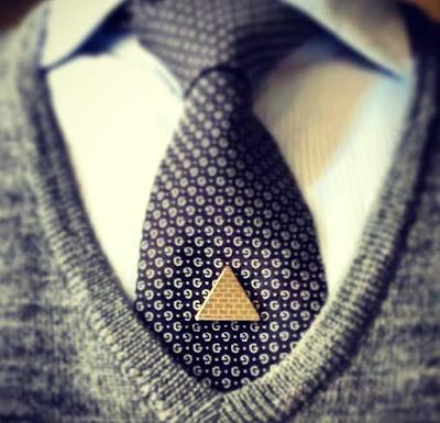 Conversation Starter Tie Pin