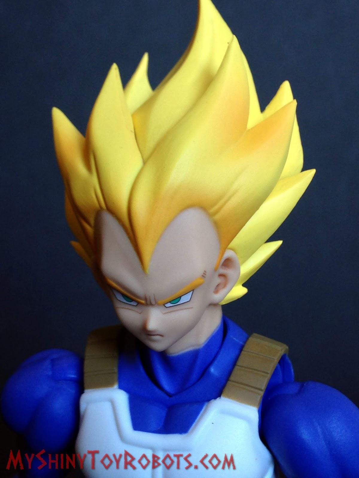 Dragon Ba Figuarts Super Saiyan Vegeta Bandai Tamashii Nations S.H Cell Saga