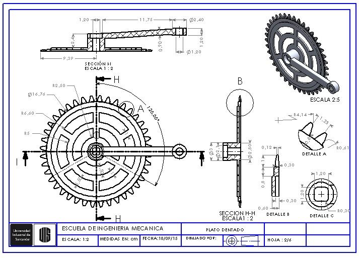 Solidworks tutorias trabajos y consultas dise o pedales for Disenos para bicicletas