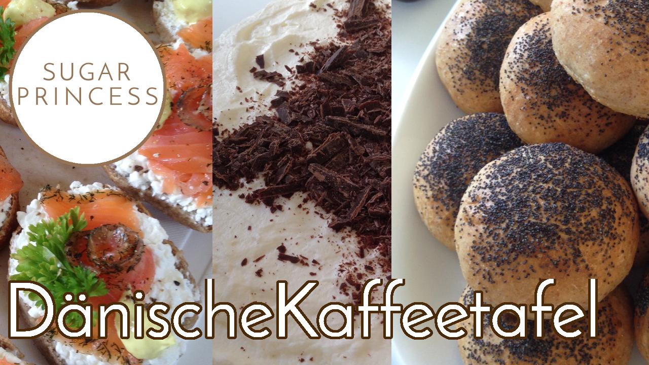Die dänische Kaffeetafel: Rundstykker, Pekannusspastete, Roggenbrot-Schichttorte, Hagebuttenrolle und Kransekage: Dänemark Vlog Time No. 3